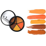 eshion New 5 Colours Cream Concealer Camouflage Makeup Palette for face