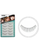 5 Pairs Handmade Super Natural Fake Eye Lash False Eyelashes Makeup