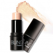 Rosabeauty Highlighter stick All Over Shimmer Highlighting Powder Creamy Texture Water-proof Silver Shimmer Light