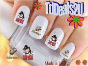 Military - Marine USMC - WaterSlide Nail Art Decals - Highest Quality! Made in USA