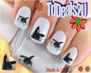 Whales - Orca - WaterSlide Nail Art Decals - Highest Quality! Made in USA