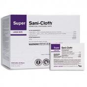 PDI Super Sani-Cloth® Germicidal Disposable Wipe, Large, Individual, 13cm x 20cm
