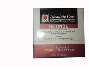 Absolute Care Professional Treatment Products Retinol Vitamin A & E Retinol Day Cream, 1.69 oz / 50 ml