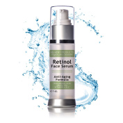 Retinol Serum for Proven Skin Treatment & Retinol Skin Rejuvenation - Ageless looking skin with Retinol & Vitamins A E - Activates collagen Best for Fine Line & Wrinkles - Anti-Ageing Serum Moisturiser