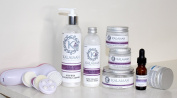 Anti Ageing Skin Care Set Organic & Natural Skincare - Fountain of Youth Kit with Microdermabrasion Gift For Dry to Ageing