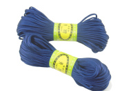 6Bundles 130Yards 2.5MM Navy Blue Polyester Rattail Satin Cord for Chinese Knotting Cord & Jewellery Making