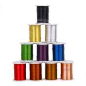 WINOMO Copper Wire Beading Thread String Cord for DIY Making - 10pcs