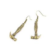 1 Pair Fashion Jewellery Making Charms Earrings Backs Findings Arts Crafts Hooks Bulk Lots Wholesale Supplier S5VH2 Hammer