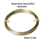 Modern Findings 14 Ga Nickel Silver Round Wire 6.1m Coil