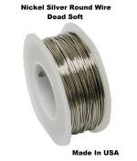 Modern Findings 26 Ga Nickel Silver Round Wire 100m Spool