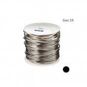 SILVER PLATED COPPER ROUND WIRE 16 GAU 38m 0.5kg SPOOL