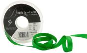 Berisfords 3501 20 m x 10 mm Double Faced Satin Ribbon, Emerald