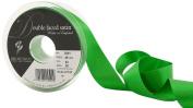 Berisfords 3501 20 m x 25 mm Double Faced Satin Ribbon, Emerald