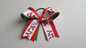 Alpha Gamma Delta Hair Bow Official Licenced