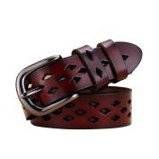 Boshiho® Fashion Women's Ms lady Leather Cowhide Leather Belts Apparel Belt for Women Custom Fit Buckle Waist Belt