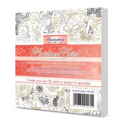 Hunkydory Crafts Christmas Cheer Liftables Pad Luxury Foiled & Die-Cut 54-Assorted Sheets