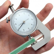 Thickness Gauge Tester Measure Leathercraft Tool 0-10mm Flat Paper Tissue