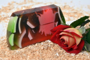 Natural Aromatic Handmade Soap with Rose Flower Extract