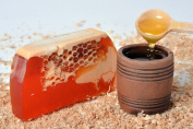 Natural Aromatic Handmade Soap with Honey and Honeycomb