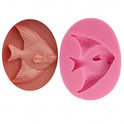 Mr.S Shop 3D Arrow Fish Silicone Mould Chocolate Candy Jelly Fondant Mould Cake Bakeware Tools,Small Size