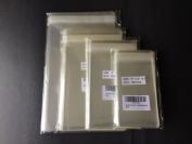 400 Pcs (4 sizes 100 each) 3x5, 4x6, 5x7, 6x9 Clear Resealable Cello Cellophane Bags