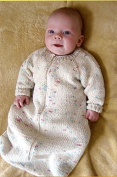 Knitting Pure & Simple Knitting Pattern #103 - Baby Sleeping Bag