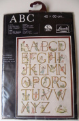 ABC Lanarte Cross Stitch Kit Alphabet Sampler #33226