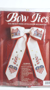 Bow Tie Celebrate Door Decoration Cross Stitch Kit