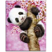 Gsha DIY 5D Diamond Embroidery Painting Panda Tree Mosaic Cross Stitch