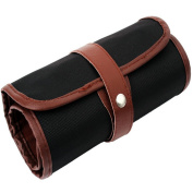 Pencil Holders, 36 Slot Roll up Canvas Wrap Bag for School Student