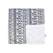Towin Baby Arrow Minky Plush Double Layer Receiving Blanket/Pet Dog Blanket, Aztec Arrow 30x30