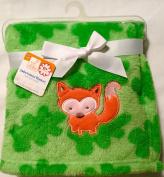 Swiggies Embroidered Blanket - Woodland Fox