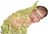 Little Kiddo Embroidery Lace Baby Photography Props Newborn Photography Wraps Handmade Baby Photo Props Accessories