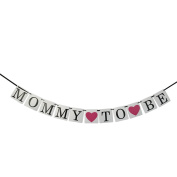 Mommy to be banner- baby shower decorations ,pregnancy sign photo props
