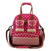 Nappy Bag Travel Backpack-Multifunction Baby Bag-Waterproof Fabric Mom Handbag-Large Capacity Shoulder Bag-By Babybag