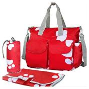 SmileWoman Nappy Changing Bag Set Large Capacity Nappy Handbag