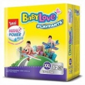 Baby Love PlayPants TM XXL 12 Pcs