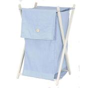 Koala Baby Chambray Folding Hamper - Blue Storage & Organisation