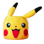 Pokemon Inspired Pikachu Crochet Basket Storage Containers Bins