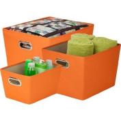 Honey-Can-Do Tote Kit,Orange