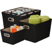 Honey-Can-Do Tote Kit,Black