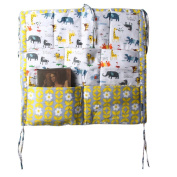 Whitelotous Nursery & Nappy Hanging Organisers Baby Cot Bed Hanging Storage Bag