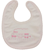 Embroidered Baby Bibs (Pack of 3) - GREAT GIFT - fits ages 0-6 months - many styles and colours available