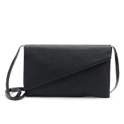 TIFENNY Women Leather Envelope Shoulder Crossbody Messenger Bags Clutch Bag