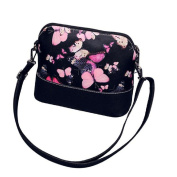 TIFENNY Women Printing Shoulder Bag Leather Purse Messenger Bag
