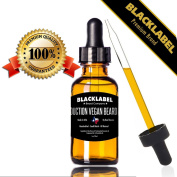 Organic Beard Oil Vegan Leave-In Conditioner Eliminate Dandruff Best for Groomed Beard and Moustache Face and Skin Stops Itching & Treats Acne 100% Pure & Natual Lumber Jack Scented 30ml Made by Texans