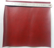 Gaosi Tools Scrap Lace Leather Side Wine Colour Cowhide Piece