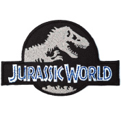Jurassic World Embroidered Iron on Patches #CF