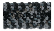 BLACK 3.2cm STRETCH SEQUIN-NEW!!!! LOW PRICE 10 Yards