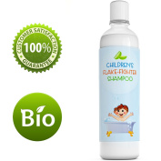 Best Anti Dandruff Shampoo For Kids - All-Natural Gentle Tear Free Kid's Shampoo for Dandruff - Itchy Scalp Treatment for Children with Tea Tree Lavender & Jojoba- Sulphate Free for All Ages- 240ml